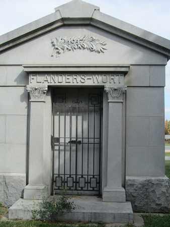 WORT FLANDERS, BELLE - Buffalo County, Nebraska | BELLE WORT FLANDERS - Nebraska Gravestone Photos