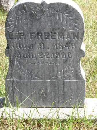 FREEMAN, C.P. - Buffalo County, Nebraska   C.P. FREEMAN - Nebraska Gravestone Photos