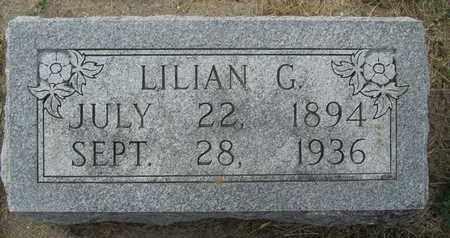 GASS, LILIAN - Buffalo County, Nebraska | LILIAN GASS - Nebraska Gravestone Photos