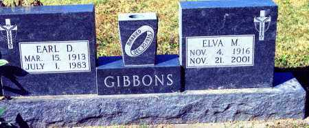 GIBBONS, ELVA MINNIE - Buffalo County, Nebraska | ELVA MINNIE GIBBONS - Nebraska Gravestone Photos