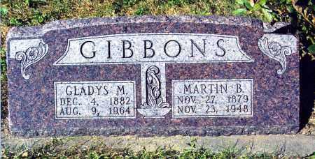 BROADFOOT GIBBONS, GLADYS M. - Buffalo County, Nebraska | GLADYS M. BROADFOOT GIBBONS - Nebraska Gravestone Photos