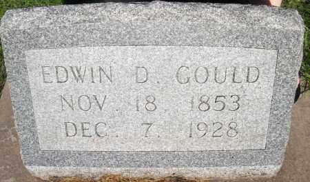 GOULD, EDWIN D. - Buffalo County, Nebraska | EDWIN D. GOULD - Nebraska Gravestone Photos