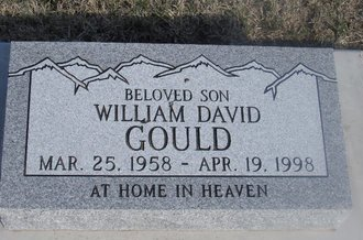 GOULD, WILLIAM DAVID - Buffalo County, Nebraska | WILLIAM DAVID GOULD - Nebraska Gravestone Photos