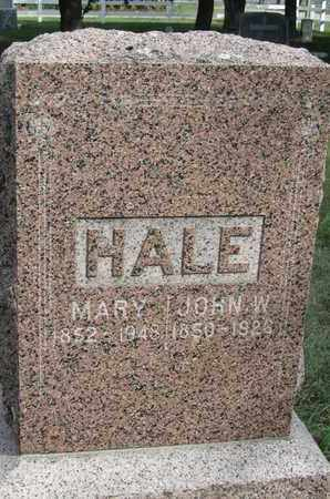 HALE, JOHN - Buffalo County, Nebraska | JOHN HALE - Nebraska Gravestone Photos