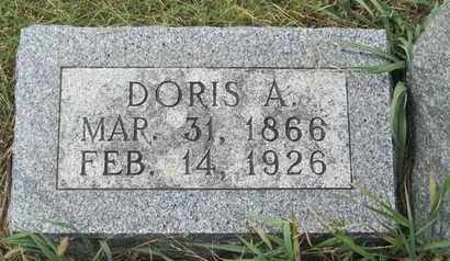 HENNING, DORIS - Buffalo County, Nebraska | DORIS HENNING - Nebraska Gravestone Photos
