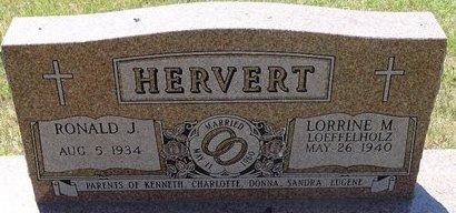 LOEFELHOLZ HERVERT, LORRINE M. - Buffalo County, Nebraska | LORRINE M. LOEFELHOLZ HERVERT - Nebraska Gravestone Photos