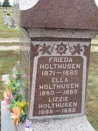 HOLTHUSEN, ELLA - Buffalo County, Nebraska | ELLA HOLTHUSEN - Nebraska Gravestone Photos