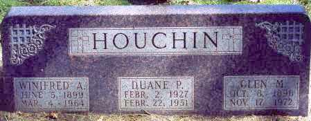 HOUCHIN, WINIFRED A. - Buffalo County, Nebraska | WINIFRED A. HOUCHIN - Nebraska Gravestone Photos