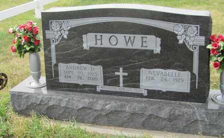HOWE, NEVABELLE - Buffalo County, Nebraska | NEVABELLE HOWE - Nebraska Gravestone Photos