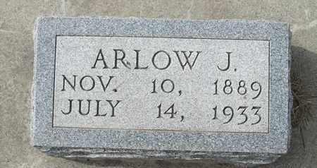 HOWE, ARLOW - Buffalo County, Nebraska | ARLOW HOWE - Nebraska Gravestone Photos