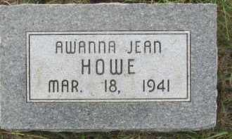 HOWE, AWANNA - Buffalo County, Nebraska | AWANNA HOWE - Nebraska Gravestone Photos