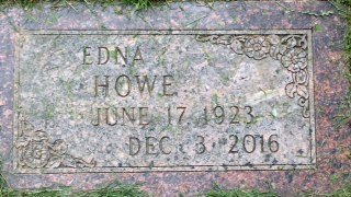 HOWE, EDNA - Buffalo County, Nebraska | EDNA HOWE - Nebraska Gravestone Photos