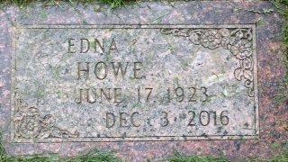 HOWE, EDNA - Buffalo County, Nebraska   EDNA HOWE - Nebraska Gravestone Photos