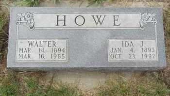 HOWE, IDA - Buffalo County, Nebraska | IDA HOWE - Nebraska Gravestone Photos