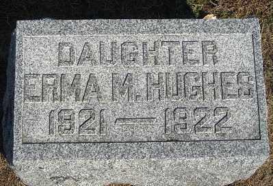 HUGHES, ERMA M. - Buffalo County, Nebraska   ERMA M. HUGHES - Nebraska Gravestone Photos