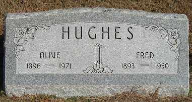 HUGHES, OLIVE - Buffalo County, Nebraska | OLIVE HUGHES - Nebraska Gravestone Photos