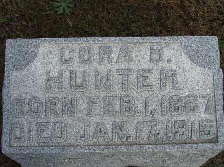 HUNTER, CORA B. - Buffalo County, Nebraska   CORA B. HUNTER - Nebraska Gravestone Photos