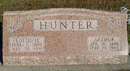 HUNTER, ARTHUR - Buffalo County, Nebraska | ARTHUR HUNTER - Nebraska Gravestone Photos
