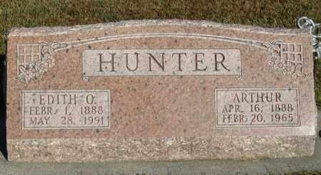 HUNTER, ARTHUR - Buffalo County, Nebraska | ARTHUR HUNTER - Nebraska Gravestone Photos