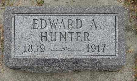 HUNTER, EDWARD - Buffalo County, Nebraska   EDWARD HUNTER - Nebraska Gravestone Photos