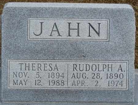 JAHN, RUDOLPH A. - Buffalo County, Nebraska | RUDOLPH A. JAHN - Nebraska Gravestone Photos