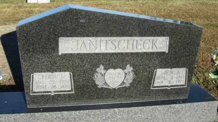 JANITSCHECK, FERN J. - Buffalo County, Nebraska | FERN J. JANITSCHECK - Nebraska Gravestone Photos