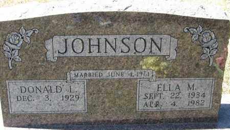 JOHNSON, ELLA M. - Buffalo County, Nebraska | ELLA M. JOHNSON - Nebraska Gravestone Photos