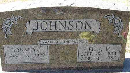 JOHNSON, DONALD L. - Buffalo County, Nebraska   DONALD L. JOHNSON - Nebraska Gravestone Photos