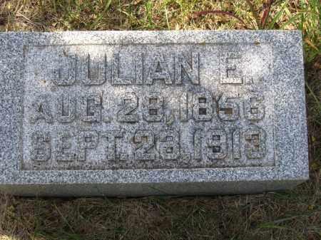 JOHNSON, JULIAN E. - Buffalo County, Nebraska | JULIAN E. JOHNSON - Nebraska Gravestone Photos