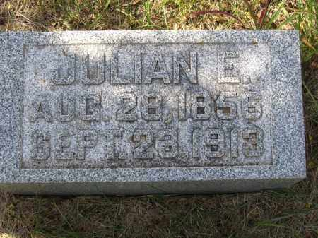 JOHNSON, JULIAN E. - Buffalo County, Nebraska | JULIAN E. JOHNSON - Nebraska Gravestone Photos