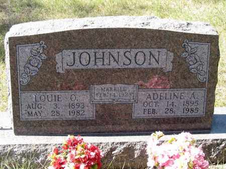 JOHNSON, LOUIE O. - Buffalo County, Nebraska | LOUIE O. JOHNSON - Nebraska Gravestone Photos