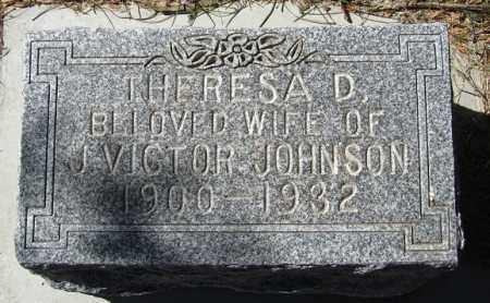 JOHNSON, THERESA D - Buffalo County, Nebraska | THERESA D JOHNSON - Nebraska Gravestone Photos