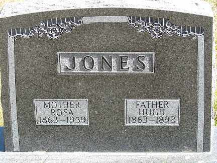 JONES, HUGH - Buffalo County, Nebraska | HUGH JONES - Nebraska Gravestone Photos