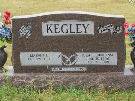 KEGLEY, MARVIN - Buffalo County, Nebraska | MARVIN KEGLEY - Nebraska Gravestone Photos