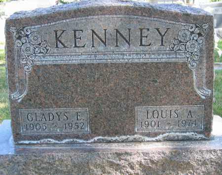 KENNEY, GLADYS E. - Buffalo County, Nebraska | GLADYS E. KENNEY - Nebraska Gravestone Photos