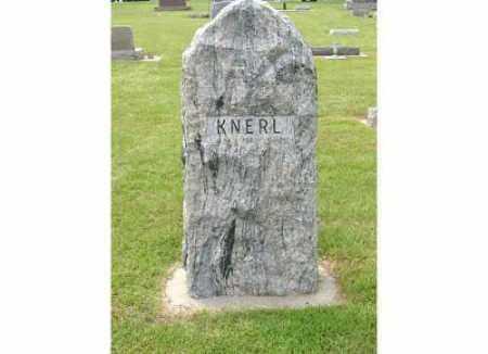 KNERL, (FAMILY MARKER) - Buffalo County, Nebraska   (FAMILY MARKER) KNERL - Nebraska Gravestone Photos