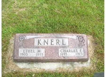 KNERL, ETHEL M - Buffalo County, Nebraska | ETHEL M KNERL - Nebraska Gravestone Photos