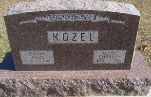 KOZEL, CHARLES - Buffalo County, Nebraska | CHARLES KOZEL - Nebraska Gravestone Photos