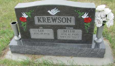 KREWSON, LEE - Buffalo County, Nebraska | LEE KREWSON - Nebraska Gravestone Photos