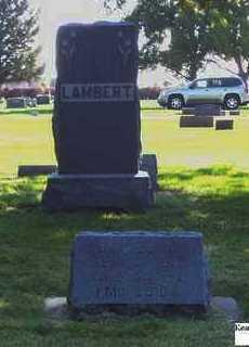 LAMBERT, JAMES - Buffalo County, Nebraska | JAMES LAMBERT - Nebraska Gravestone Photos
