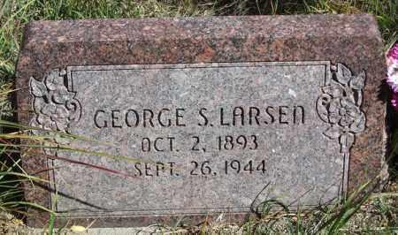 LARSEN, GEORGE S. - Buffalo County, Nebraska   GEORGE S. LARSEN - Nebraska Gravestone Photos
