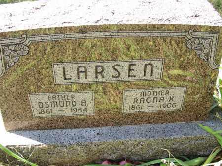 LARSEN, OSMUND A. - Buffalo County, Nebraska | OSMUND A. LARSEN - Nebraska Gravestone Photos