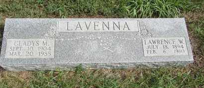 LAVENA, LAWRENCE - Buffalo County, Nebraska   LAWRENCE LAVENA - Nebraska Gravestone Photos