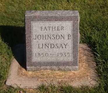 LINDSAY, JOHNSON P. - Buffalo County, Nebraska | JOHNSON P. LINDSAY - Nebraska Gravestone Photos