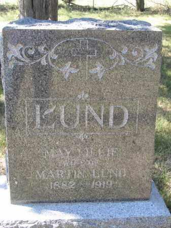 LUND, MAY LILLIE - Buffalo County, Nebraska   MAY LILLIE LUND - Nebraska Gravestone Photos