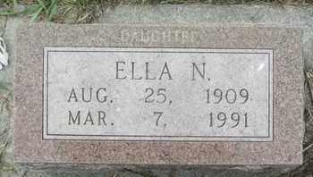 MCCONNELL, ELLA - Buffalo County, Nebraska   ELLA MCCONNELL - Nebraska Gravestone Photos