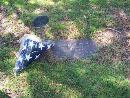 MUNN, CHARLES H. - Buffalo County, Nebraska | CHARLES H. MUNN - Nebraska Gravestone Photos