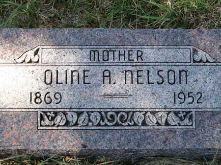 NELSON, OLINE A. - Buffalo County, Nebraska   OLINE A. NELSON - Nebraska Gravestone Photos