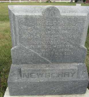 NEWBERRY, REBECCA - Buffalo County, Nebraska | REBECCA NEWBERRY - Nebraska Gravestone Photos