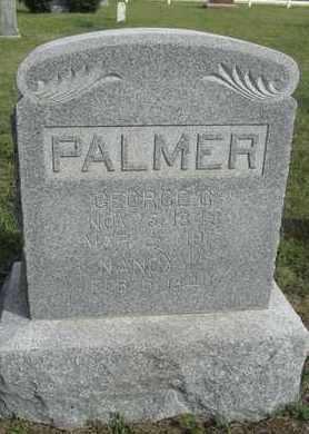 PALMER, GEORGE - Buffalo County, Nebraska | GEORGE PALMER - Nebraska Gravestone Photos